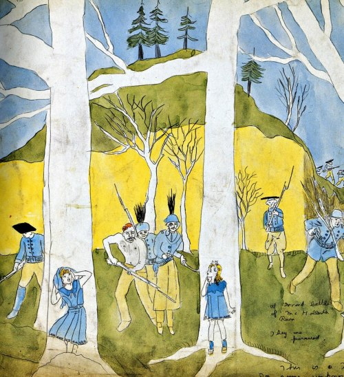 painting by Henry Darger