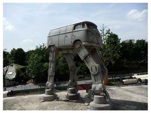 laughingsquid:  Volkswagen Imperial AT-AT Walker
