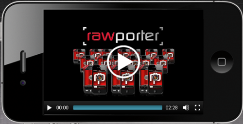 Is Rawporter the Future of Journalism?  Rawporter is built on the idea that almost anyone can become a local  news cameraman or camerawoman. Instead of dispatching a camera crew to a  fire during rush hour and risk their not getting there until after the  flame is out, a television news producer can create an assignment from  Rawporter's Web interface and send it to anyone with the app who may be  in the area of the fire.  This is a great idea. I've noticed that local news stations are soliciting footage from viewers these days. With so many people owning smartphones, often an Average Joe can capture in-the-moment footage than camera crews. Unfortunately, it sounds like the app has some glitches to work through first.