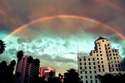 My fav. kind of days are when its cloudy but filled with colors <3 taken by my house on a walk