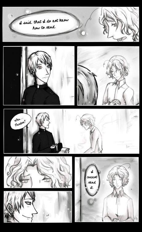 "As promised Page 2 of the comic for the month of June in the lovely Story ""Faith"" by P0ck3tf0x. :) Third and last one tomorow.^^ Page 1 : link Page 3: link (I need to learn how to do comics…**goes to look again at tips tutorials**)"