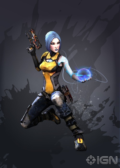 New image of Maya, The Siren, from Borderlands 2!   Learn more about her here from IGN!