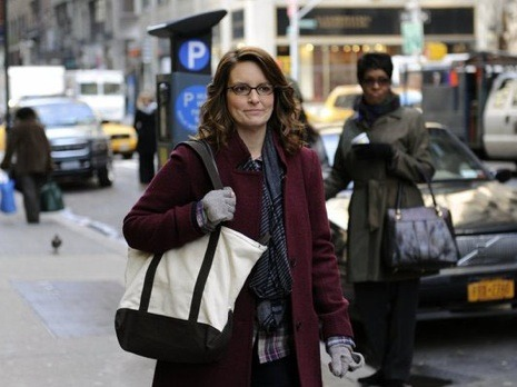 "newyorker:  In Defense of Liz Lemon  Well, I can't get on board the hate train, especially after last  week's tour-de-force episode, in which Liz morphed from a crazy old  subway lady (every New Yorker's dream: she gets her way at every turn)  into Heath Ledger's Joker. Someone needs to speak up for the Lemon, and  for the Fey. Because from the beginning Liz Lemon was pathetic. That was  what was enthralling, and even revolutionary, about the character.  Unlike some other adorkable or slutty-fabulous characters I could name,  Liz only superficially resembled the protagonist of a romantic comedy,  ready to remove her glasses and be loved. She was something way more  interesting: a strange, specific, workaholic, NPR-worshipping,  white-guilt-infected, sardonic, curmudgeonly, hyper-nerdy New Yorker. In  the first episode, Jack nails her on sight as ""a New York third-wave  feminist, college-educated, single-and-pretending-to-be-happy-about-it,  over-scheduled, undersexed, you buy any magazine that says 'healthy body  image' on the cover and every two years you take up knitting for … a  week."" Even Liz had to admit he scored a point.   - There's been a backlash to ""30 Rock"" this season, particularly the character of Liz Lemon; which is why you should read the rest of Emily Nussbaum's impassioned 1,700-word defense of her: http://nyr.kr/xDdxKc"