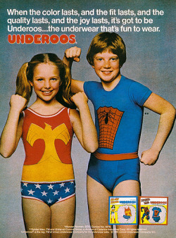 Cool underwear for kids by Underoos!