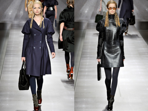Fendi's models strutted their stuff in some killer double halo braids that we can't wait to try out this weekend! #MFW