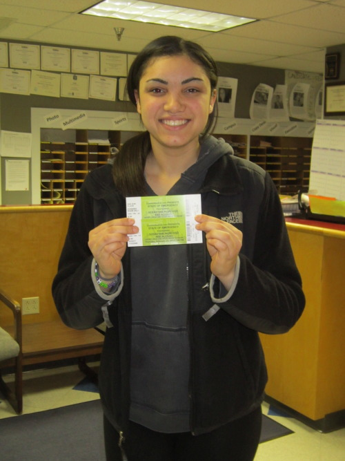 Meet the winner of our @LevelsBar promotion, Amanda Alvarez!  Amanda (sophomore-communication sciences and disorders) says she's a  huge fan of house music, but she never thought she'd win our Twitter  promotion. She's now the proud owner of two tickets and backstage passes  to today's Alesso and Sebastian Ingrosso show at the Bryce Jordan  Center. Congratulations Amanda, and enjoy the show! Be sure to follow us on Twitter for a chance to win other contests.