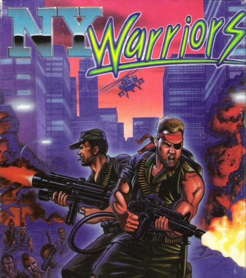 obscurevideogames:  NY Warriors (PC - Virgin Games - 1990)