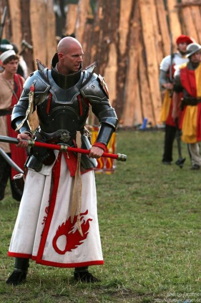 lightningboltthis:  Serious looking Paladin eyes the battlefield