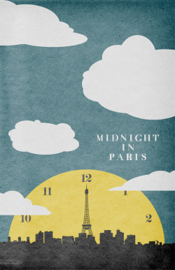 minimalmovieposters:  Midnight In Paris by Travis English