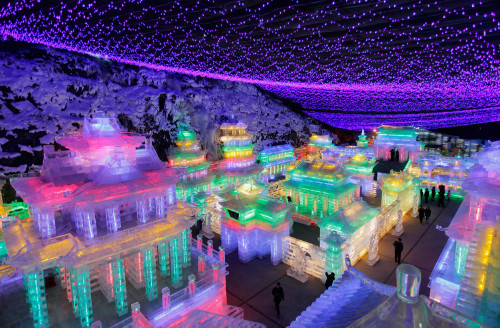 Yanqing Ice Festival -a tradition that wraps up the Lunar New Year Celebrations in Beijing.