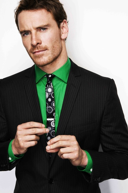 Mr. Fassbender, you are cruelly attractive. Stop it.