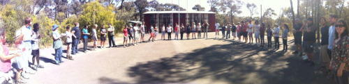 A great panoramic from the first day of our course this year. Getting ready for our first ABL as a group.