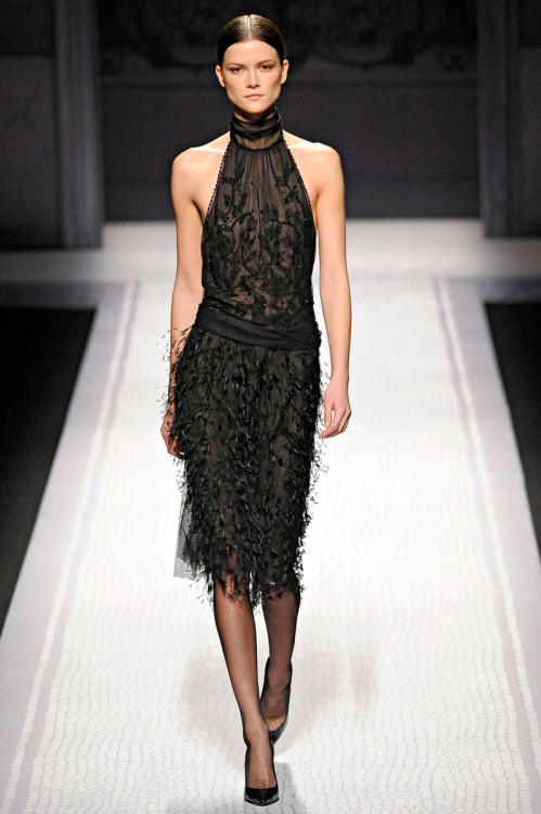 vogue:  Alberta Ferretti Fall 2012Photo: Marcio Madeira/firstVIEWVisit Vogue.com for the full collection and review.