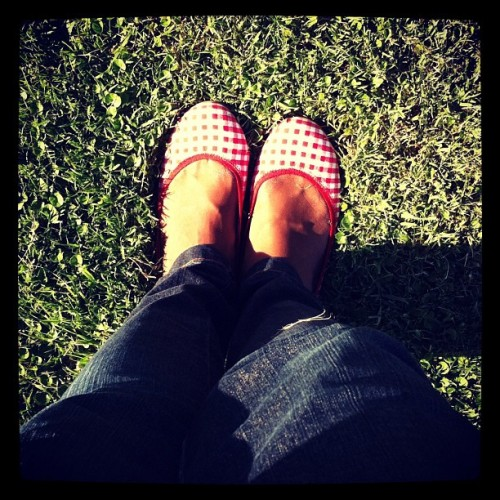 Day 23: my shoes #febphotoaday #shoes #red (Taken with instagram)