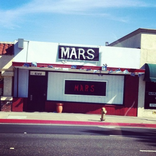 Mars Bar (Taken with instagram)