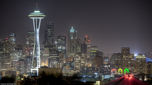 b-oomer:  wemaylearnwisdom:  Seattle  sweet jesus take me there.  Yep. Seattle's pretty awesome. :)