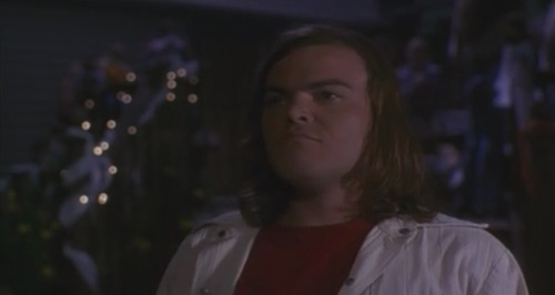 Jack Black in tonight's film, Crossroads.