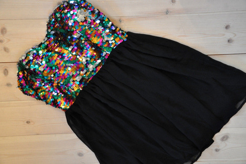 Sequin Babydoll dress: $46 at StyleCompare