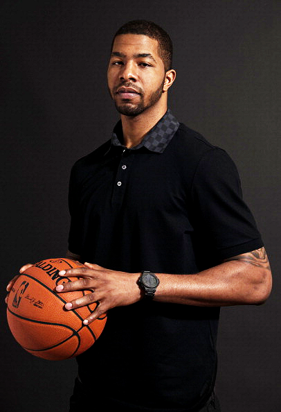 NBA All Stars 2012 Portraits. Markieff Morris.
