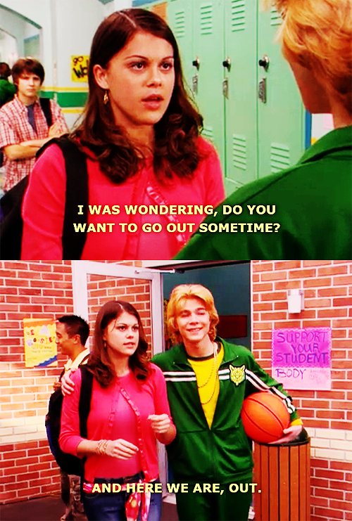 nickelodeonkids:  Asking Someone Out