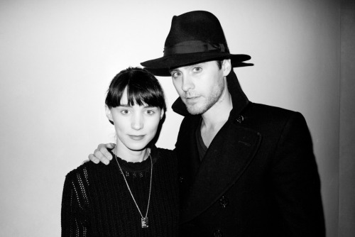 terrysdiary:   Rooney Mara and Jared Leto   people!