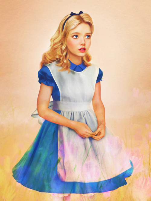 real life disney character: alice