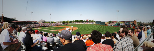 24 ballparks in 24 daysDay 18: Scottsdale Stadium, spring home of the San Francisco Giants.