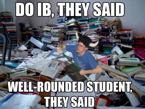IB memes—if you don't get em, be thankful you're not in the international baccalaureate.