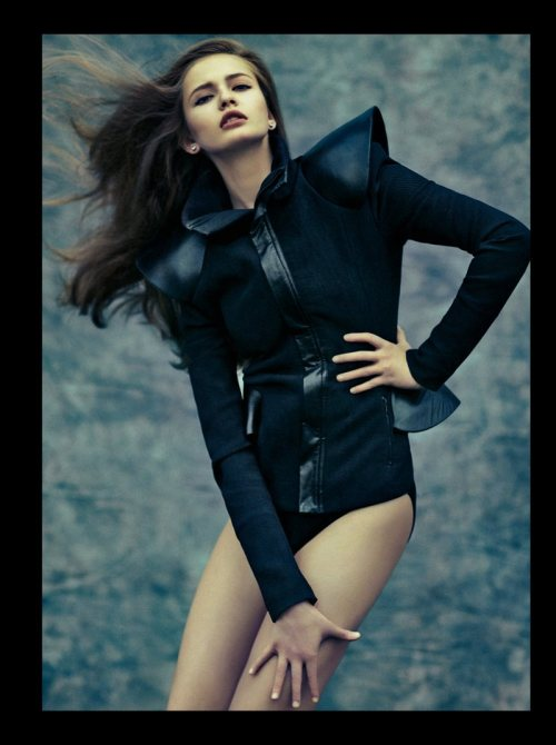 fuckyeahvintagediary:  Kristina Romanova by Kinya for Dress to Kill Winter 2011