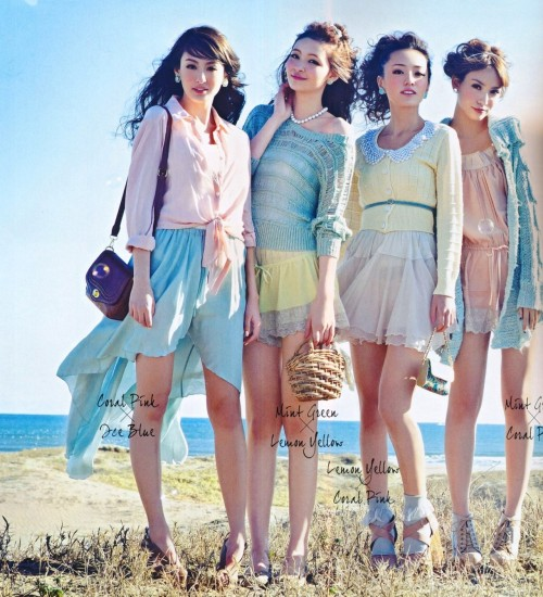 spring pastels - fresh, soft, and girly!