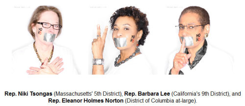 NOH8: Ten House Reps Pose For Campaign