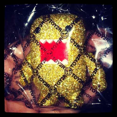 Shining shimmering splendid party girl DOMO (Taken with instagram)