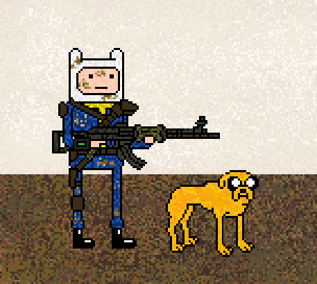 Fallout Time with Jake the Dogmeat and Finn the Wanderer