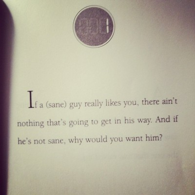 melissa-leah:  He's just not that into you #girlpower #advice #girls #book #hesjustnotthatintoyou #dating #love #igdaily #iphoneography (Taken with instagram)