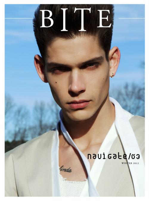 crushmetender:  Ethan James for BITE Magazine.  Issue 03.  Navigate.