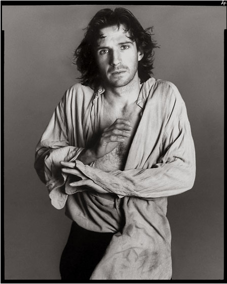 Ralph Fiennes as Hamlet in London on March 17,19995 - Richard Avedon