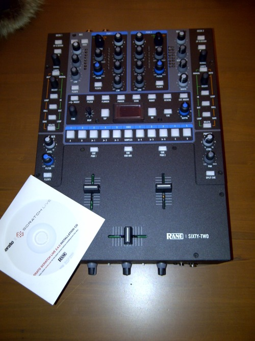 Been playing with my new rane sixty-two for a few hours now.  This baby is a beast.