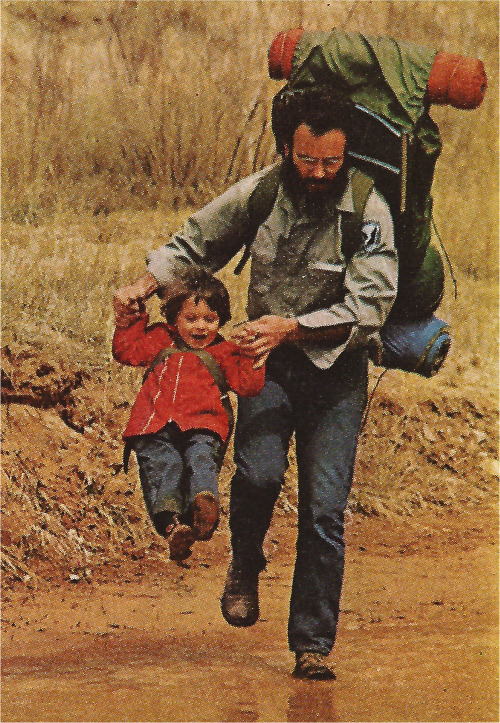 johnny-remember-me:  Father and son, 1975.