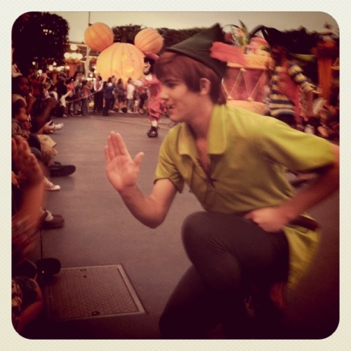 daysatdisneyland:  Peter Pan   PETERRRRR!  It's not Andrew but he'll do! Cause he's cute 8D I CAN'T BELIEVE I'M GONNA MAYBE MEET PETER IN APRIL!
