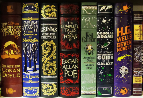 I want all the Barnes & Noble leatherbound editions.