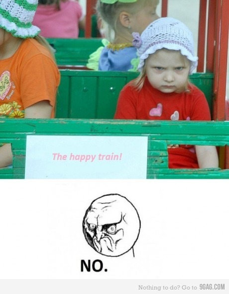 9gag:  Funny train…