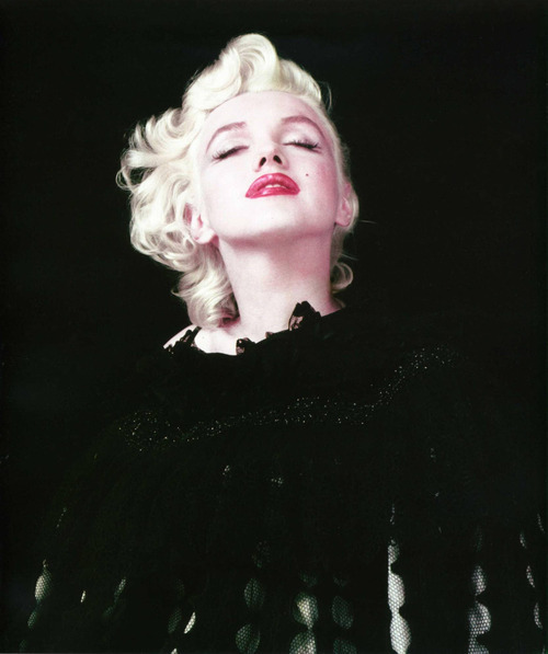 I can't figure out if Marilyn Monroe was a selfish, manipulative drunk or if she was a messed up sad little girl. Probably both.