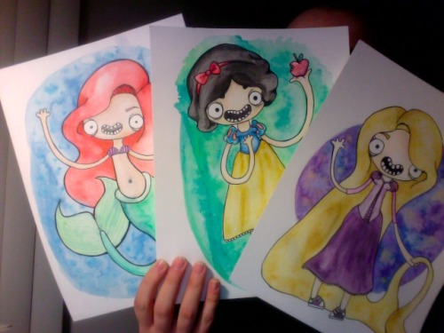 Three princesses done so far!