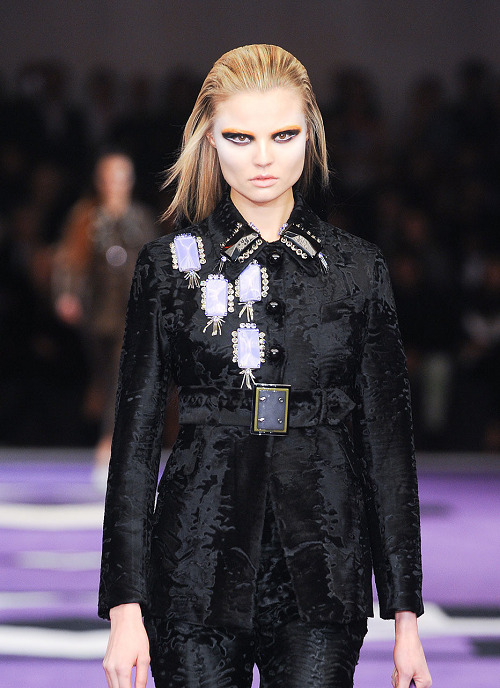 Magdalena Frackowiak at Prada Fall 2012
