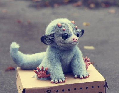 Excellent creature dolls by artist Santani.