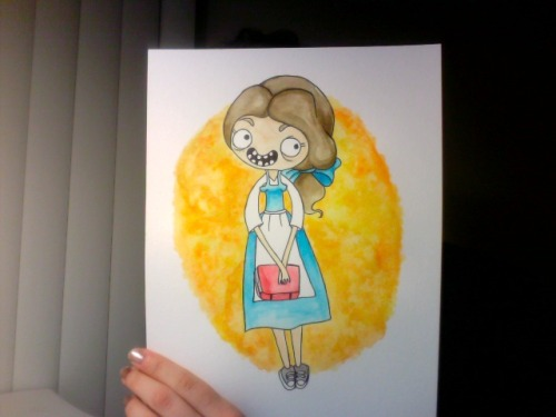 Belle!  Prints will be available once the entire series is complete!
