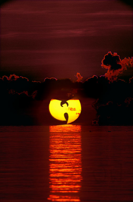 ronworkman:  Wu-Tang Sun Remember to protect ya neck… with sunscreen. That shit burns. (via:ianbrooks:meh.ro)