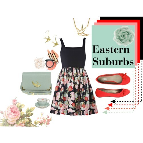 Eastern Suburbs by ms-aja-james featuring jersey shoes