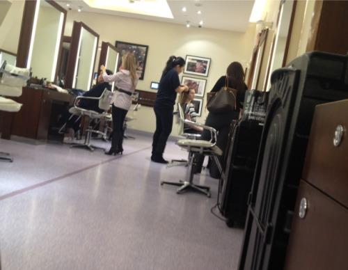 Pictorial Motion — I visited the John Barrett Salon Braid Bar at...