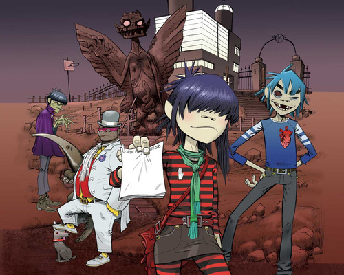 omg i love the gorillaz…so awesome….i wanted to be like noodle so badly… BF Comment: great band, i always wanted to be the black guy cuz hes awesome, but i recently found out hes possessed by a demon, idk if id want that lol